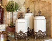 Tuscan Canisters