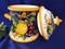 Tuscan Lemons Grapes Biscotti Jar Canister