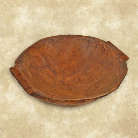 Food Safe Dough Bowl With Handles, Dough Bowl