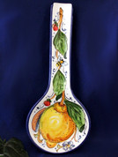 Tuscan Lemons Bees Spoon Rest
