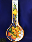 Tuscan Lemons Grapes Spoon Rest