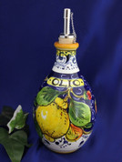 Tuscan Lemons Olive Oil Bottle