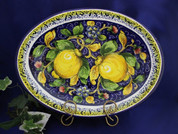 Tuscan Lemons Serving Platter