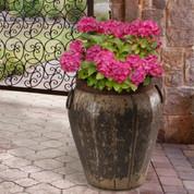Tuscan Pot Planter, Tuscan Table, Tuscan Style Urn, Biot Olive Oil Pot