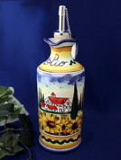 Tuscan Landscape Olive Oil Bottle