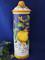 Italian Grapes Lemons Spaghetti Canister