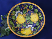 Italian Lemons Serving Bowl Italy