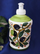 Italian Ceramic Soap Pump Made In Italy