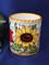 Italian Ceramic Pen Cup Toothbrush Holder, Italian Ceramic Wine Goblet Cup