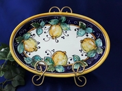 Italian Lemons Serving Dish