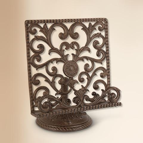 Metal Cookbook Stand, European Style Cookbook Stand