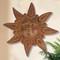 Clay Sun Face, Tuscan Sun Wall Decor