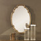 French Tuscan Oval Mirror
