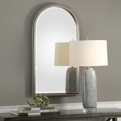 Sherise Beaded Arched Mirror