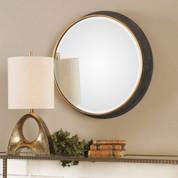 Tuscan Rustic Sturdivant Round Mirror