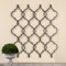 Zakaria Quatrefoil Metal Wall Art