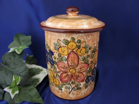 Deruta Gubbio Biscotti Jar