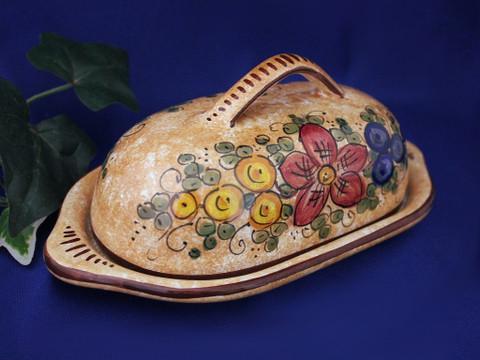 Deruta Gubbio Butter Dish
