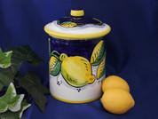 Deruta Lemon Canister
