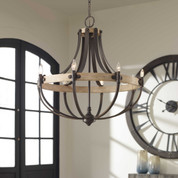 Dubois 8 Light Chandelier