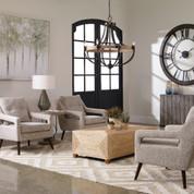 Woven Linen O'Brien Armchair