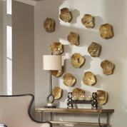 Wooden Wall Art Bowls