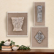 Architectural Fragments Wall Decor
