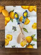 Italian Kitchen Towel and Salad Servers Gift Set
