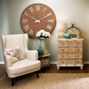 Restoration Antique Wall Clock