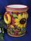Italian Lemons Sunflowers Utensil Holder Wine Cooler