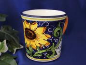 Tuscan Sunflower Italian Ceramic Coffee Mug
