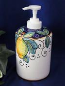 Deruta Lemon Soap Pump