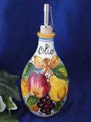Italian Fruit Olive Oil Bottle