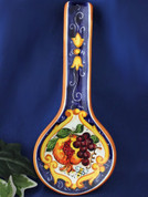 Tuscan Fruit & Bees Spoon Rest