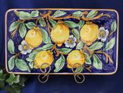 Tuscan Lemons Serving Platter