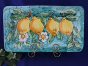 Vietri Lemons Servng Platter