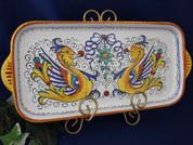 Deruta Raffaellesco Serving Tray, Deruta Serving Platter