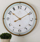 French Tuscan Wall Clock, European Style Wall Clock