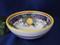 Deruta Lemon Snack Bowl, Deruta Lemon Olive Oil Dip Bowl