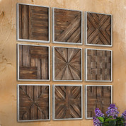 Wooden Wall  Collage