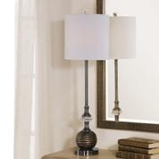 Antonietta Brushed Nickel Buffet Lamp