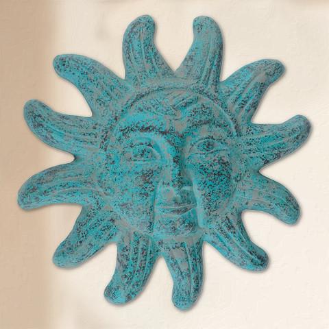 Clay Sun Face