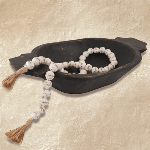 Farmhouse Clay Beads, Rustic Beads
