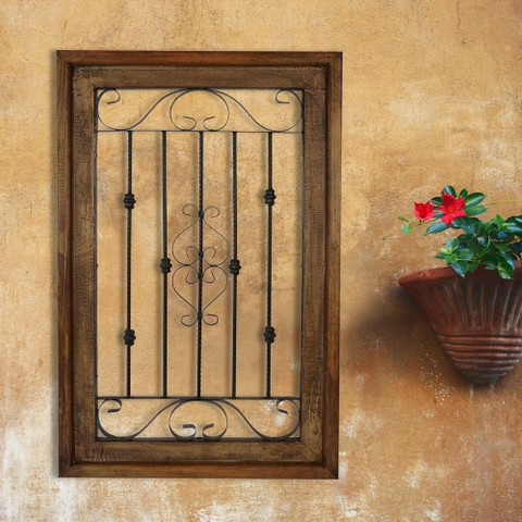 Tuscan Wall Grille, Seville Window Wall Grille