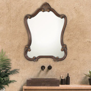 Cameo Scroll Mirror