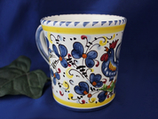 Orvieto Coffee Mug, Gallo Rooster Coffee Mug
