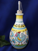 Orvieto Olive Oil Bottle, Gallo Rooster Olive Oil Bottle