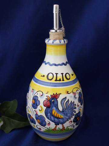 Orvieto Olive Oil Bottle, Gallo Rooster Olive Oil Bottle