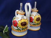 Tuscan Sunflower Oil & Vinegar Set