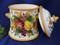 Tuscan Lemons Grapes Fruit Biscotti Jar Canister